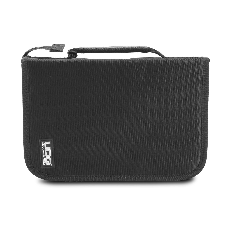 Udg Ultimate Cd Wallet 100 Black Shop L Ultimate Dj Gear